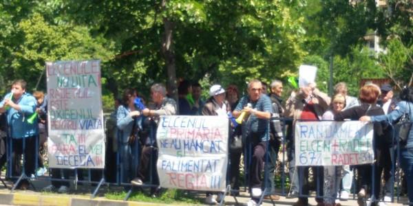radet - protest
