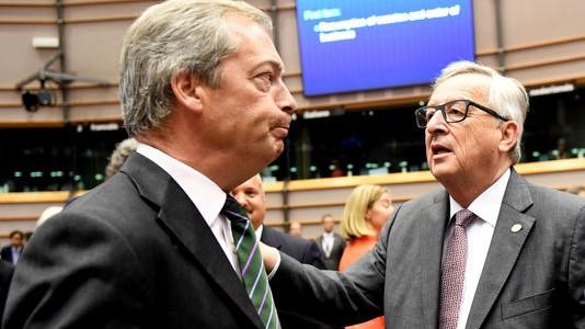 Nigel Farage - Jean-Claude Juncker